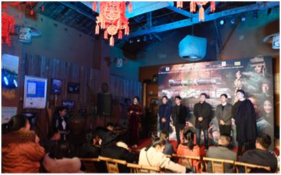 21(21苏 网0116 际恒供稿)四川网络大电影《多想活着》1月16日上映配图   活动现场1.jpg