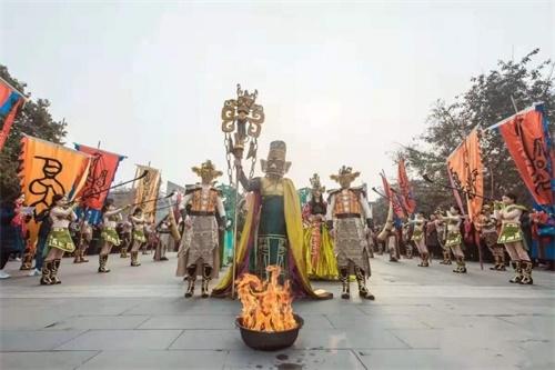 09(9苏 网0119 际恒供稿)2020春节,去广汉看三星堆大祭祀!配图   活动现场1.jpeg