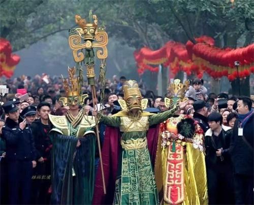 09(9苏 网0119 际恒供稿)2020春节,去广汉看三星堆大祭祀!配图   活动现场5.jpeg