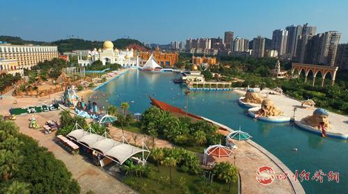 中国死海旅游度假区(遂宁市委宣传部 供图).png