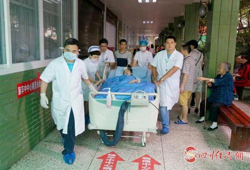14(网)长宁地震灾区伤员已出院25人 仍有156名伤员住院治疗配图    mmexport1561002533849.jpg