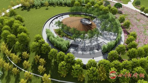 16(網)西充:城南建設生態公園完善生態宜居的城市環境配圖    城南中央公園示意圖 (2).jpg