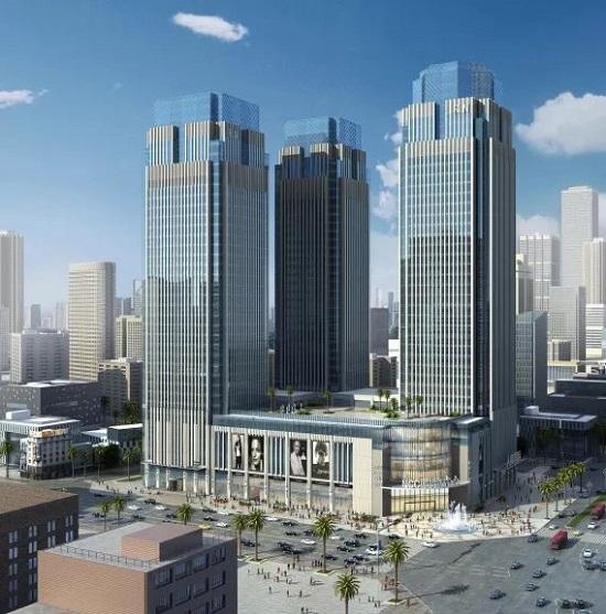 13(13苏 0709 及横沟警告)蓝润商业三大产品体系发布,为城市商业构造新空间配图    蓝润中心 项目位于人民南路与一环路交汇处.jpg