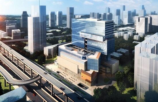 13(13苏 0709 及横沟警告)蓝润商业三大产品体系发布,为城市商业构造新空间配图    蓝润·摩里中心 项目位于青羊区西二环.jpg