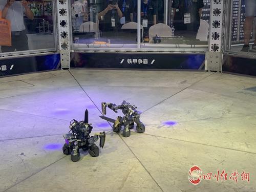 23(网)看最强数字风暴配图    格斗机器人表演.jpg