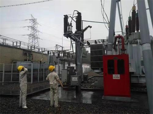 国网内江供电公司电力工人正在当地开展电网巡查和供电恢复工作(图片由国网内江供电公司提供).jpeg