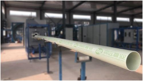 09(9刘 网 0912际恒)润远管业成功试产首条BWFRP管道 宝通布局全国迈入新阶段配图    试生产成功第一条BWFRP管道.jpg