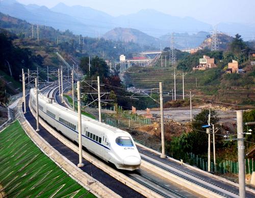 中鐵二院設計的遂渝高鐵--中國第一條具有自主知識產權的無砟鐵路,獲國家科技進步一等獎.jpg