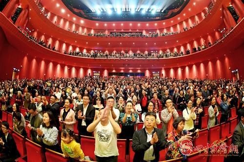 20(网)用舞剧讲述中国故事配图    大型民族舞剧《孔子》在成都上演获现场观众一致好评.jpg