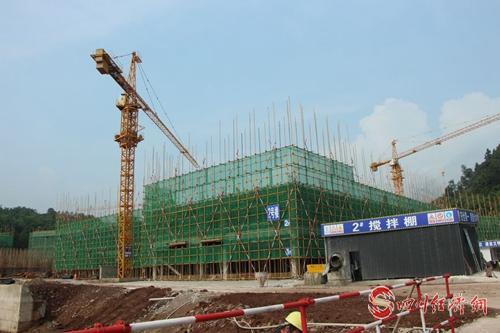 04(网)提速攻坚   沐川中学迁建项目稳步推进配图    图1:施工现场.jpg