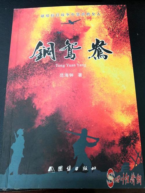 05(网)范海钟:撰写小说退休忙 老来追梦亦当时配图    小说《铜鸳鸯》封面.jpg