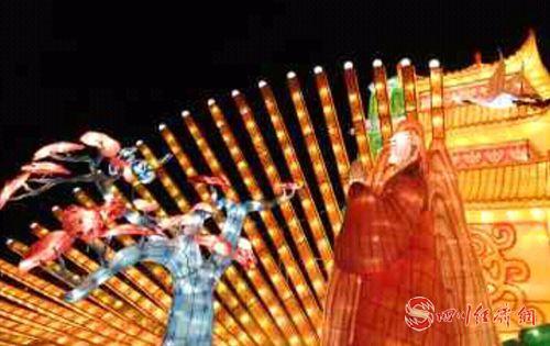 05(网)什邡第三届雍湖新春灯会将持续至2月9日 游客凭身份证免费入园观灯配图   开灯展示_副本.jpg