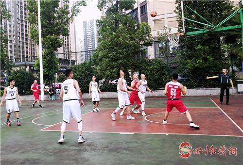"""富顺举行""""建功新富顺•共筑中国梦""""职工篮球比赛"""